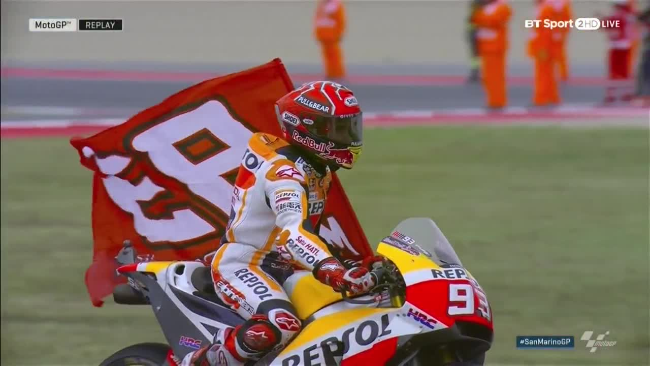 San Marino GP Race: 0-0 MM93-AD04 Before Aragon!
