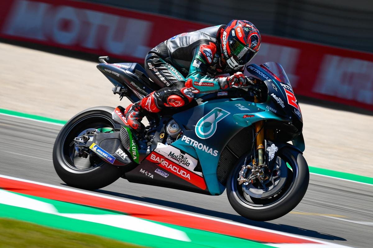 Assen GP FP3: Quartararo King!