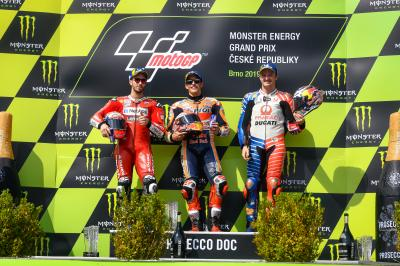 🏁🇨🇿 Czech GP Race: Phenomenal Marquez Win a Delayed Shorten Race