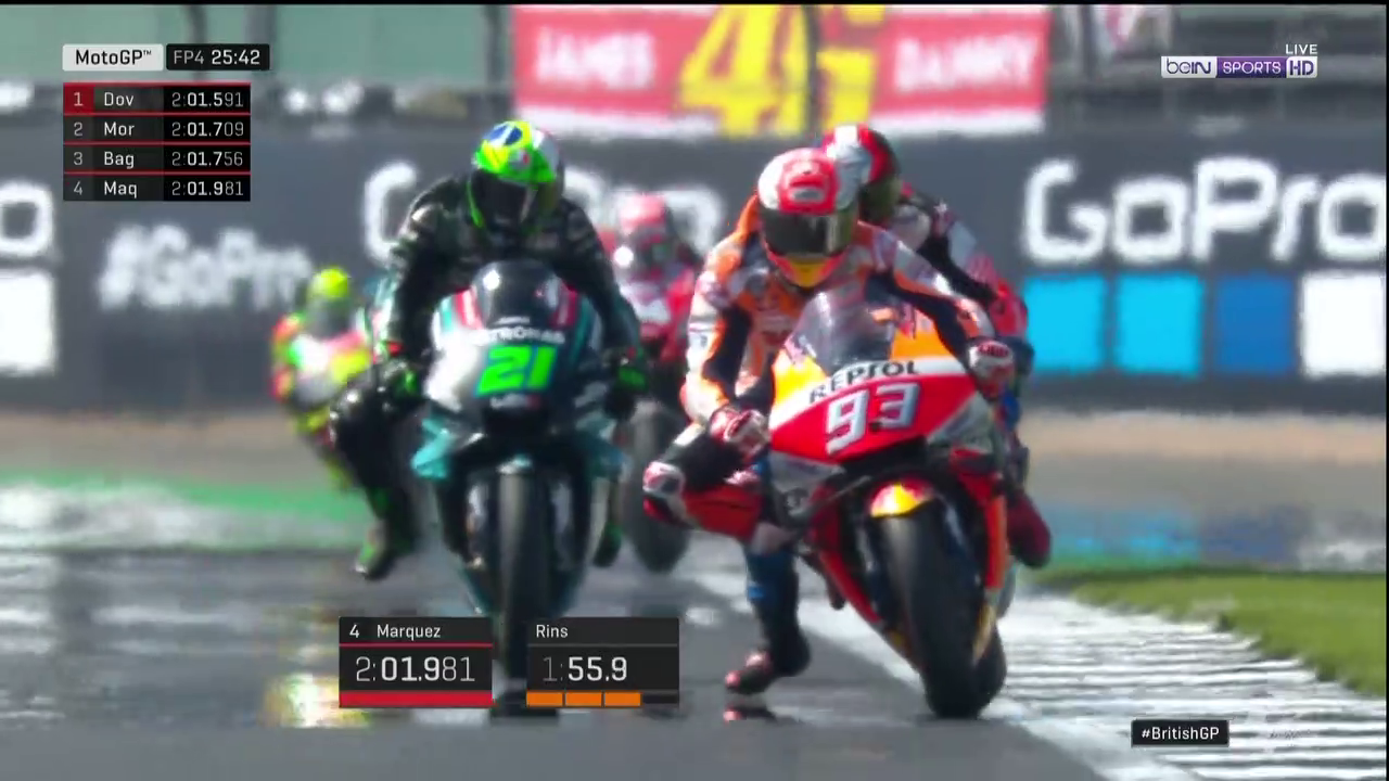 🏁🇬🇧 British GP FP4: MM93 Back on Top