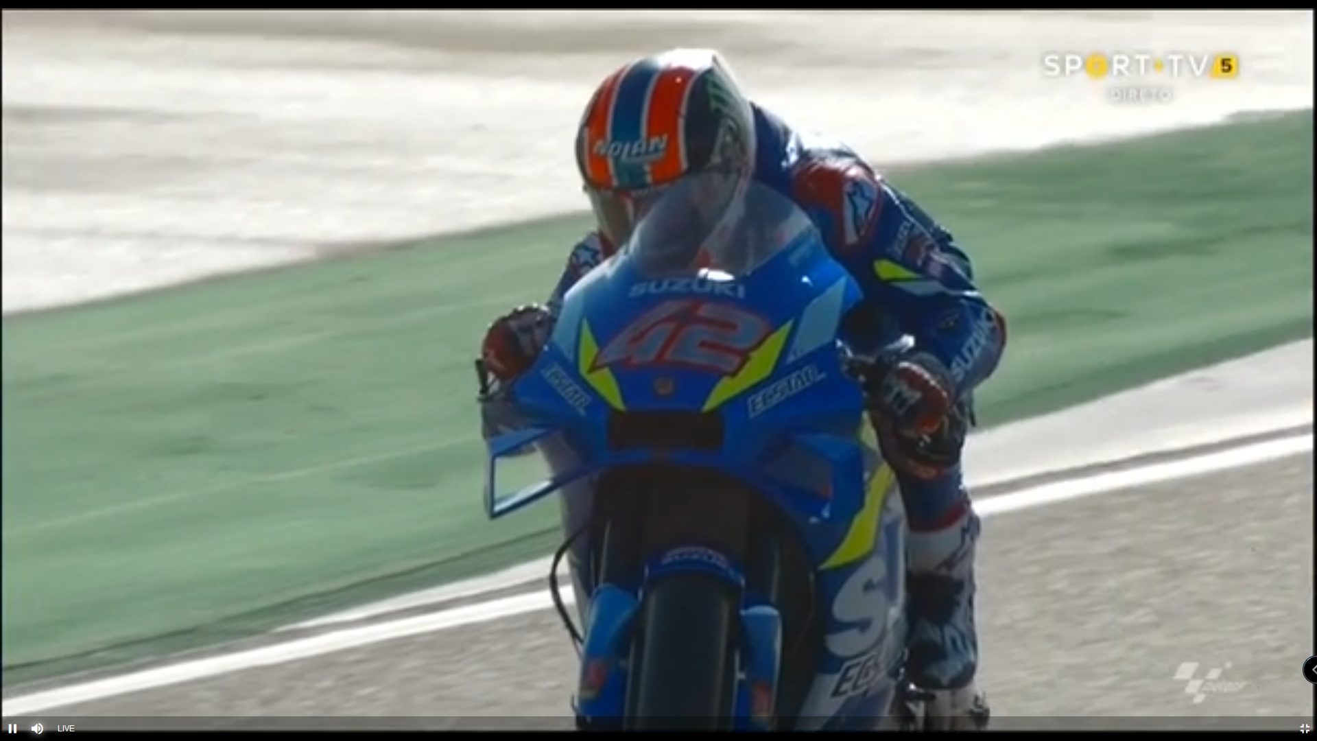 🏁🇪🇸 Aragon GP FP3: Alex Rins Opportunist
