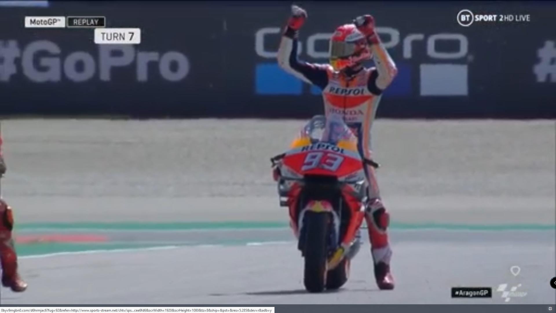 🏁🇪🇸 Aragon GP FP4: Marquez and Viñales