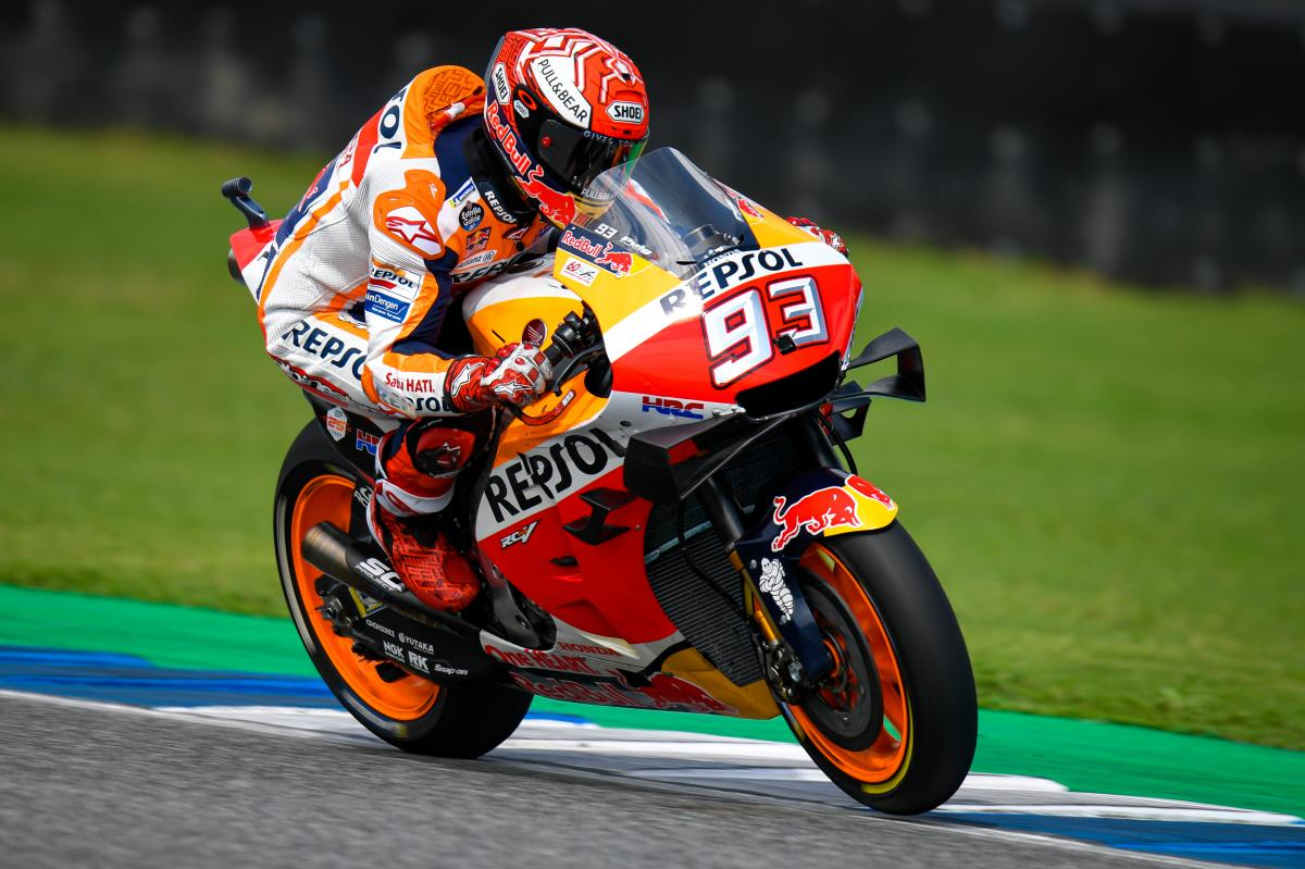 🏁🇹🇭 Thai GP Warmup: Marquez Leads the Yamaha's Quatuor